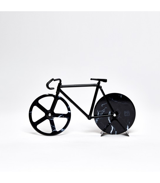 Fixie Rotella per Pizza Marmo nero