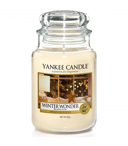 Winter Wonder arge Candle