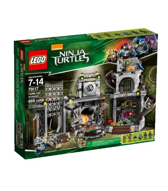 Lego Teenage Mutant Ninja Turtles Lair Invasion – 79117