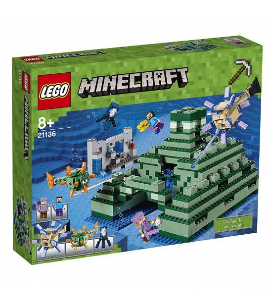 Minecraft The Ocean Monument 21136 Building Kit