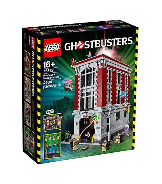 LEGO Ghostbusters 75827 Firehouse Headquarters Building Kit529