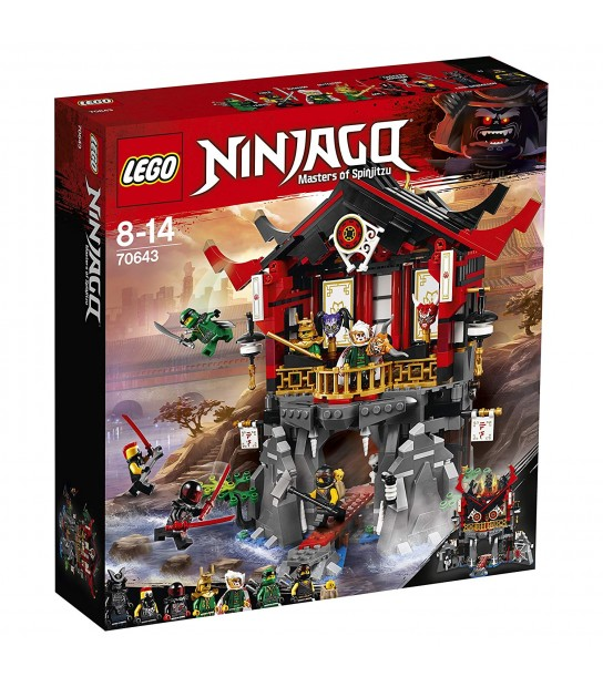 LEGO NINJAGO Temple of Resurrection 70643 Building Kit (765 Piece)
