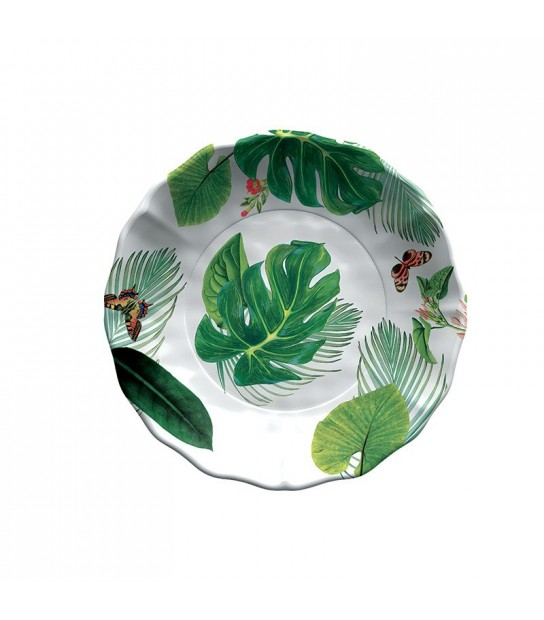 Salad Bowl York in Melamine 35 x 7 cm.