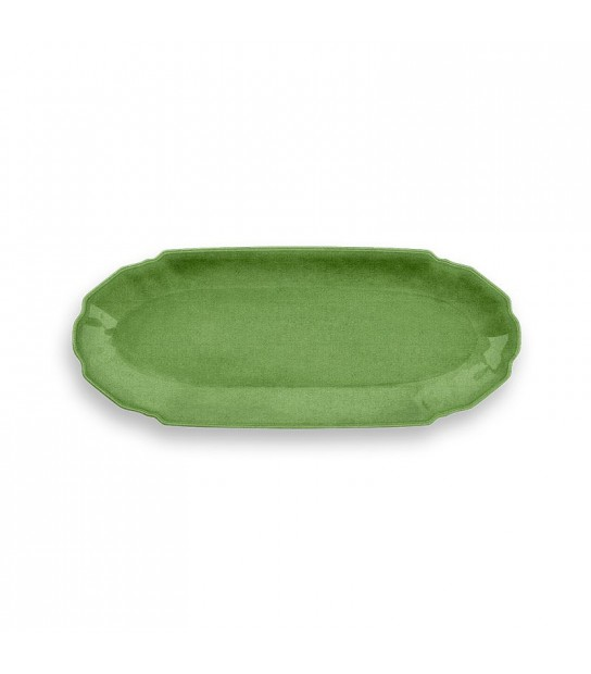 Apetizer/sushi/coffee Tray Melamine Green Tray