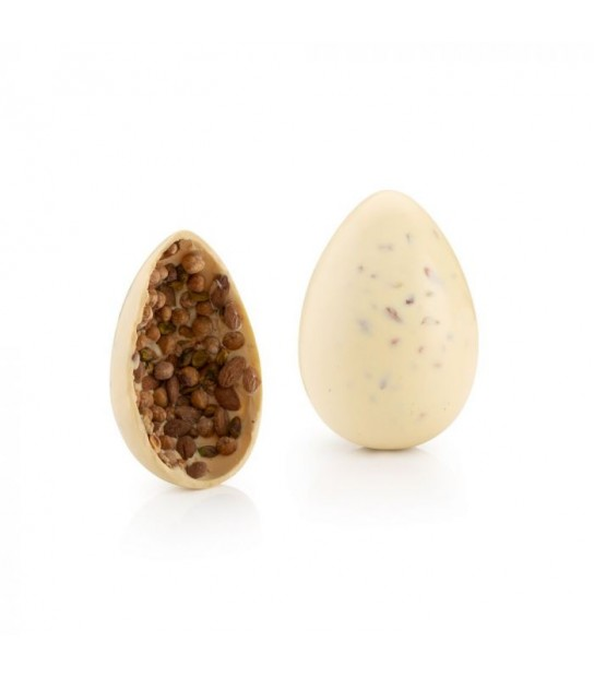 Salt Pistacchi and Nuts White Chocolate Egg 500 gr