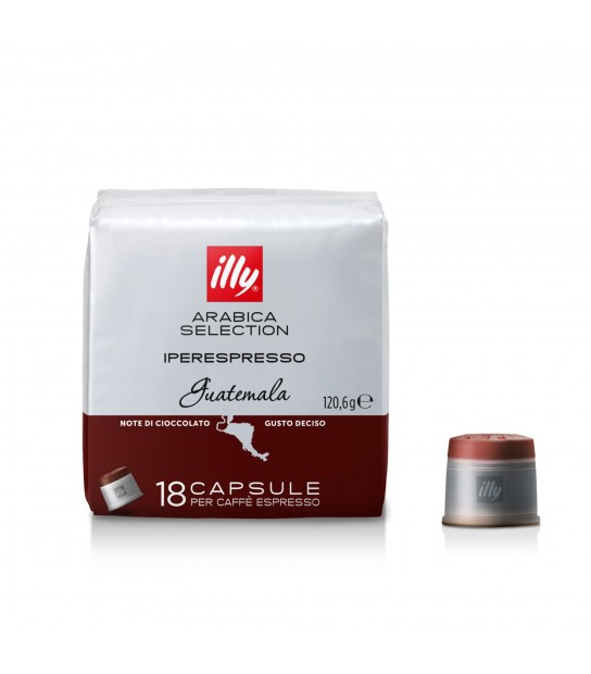 Capsule Coffee Selection Guatemala Illy