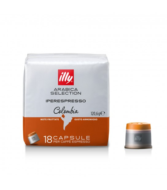 Capsule Illy Iperespresso Colombia Selection Coffee