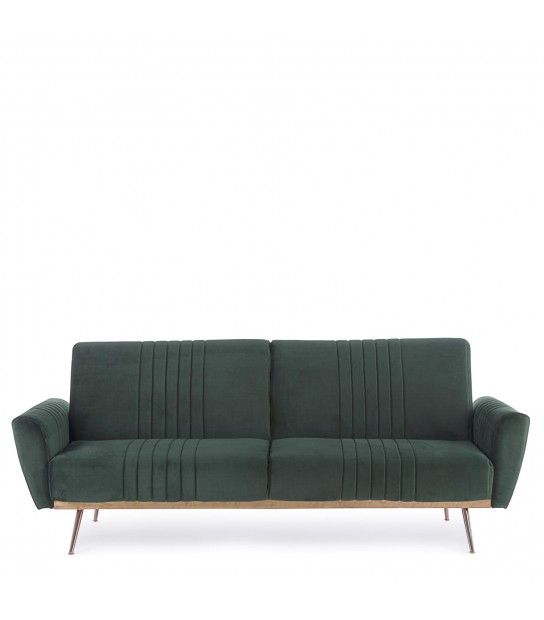 Dark green Velvet Sofa Bed