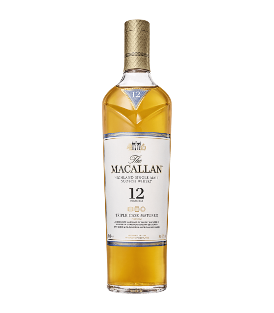 Macallan Whisky 12 Years Old Triple Cask