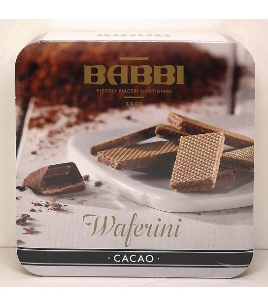 Wafer filled whit Cocoa Cream