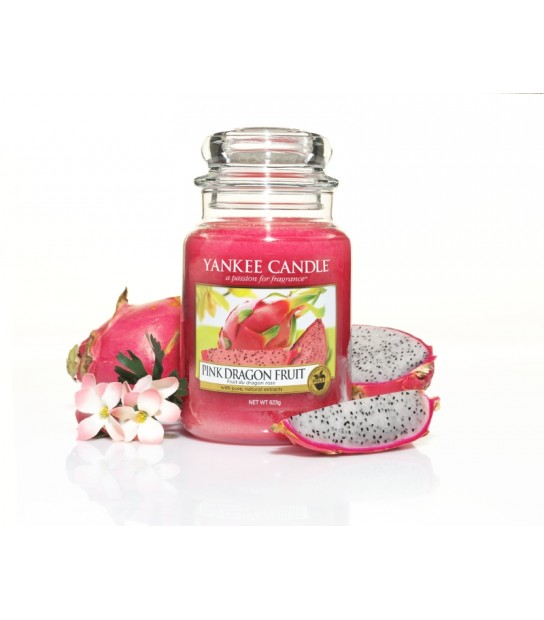 Pink Dragon Fruit Large Jar