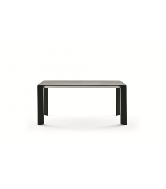 Extendible Aluminium Table Grande Arche Extendible without extension