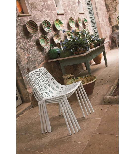 Forest Chair in Aluminium stackable