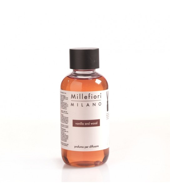 Refill Scent diffusers 150 ml Millefiori Vanilla and Wood