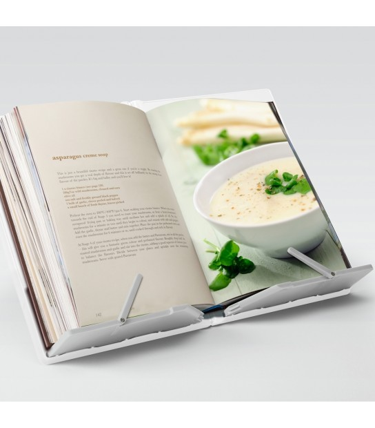 CookBook Compact folding bookstand White