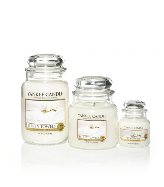 Small Jar Yankee Candle Fluffy Towels
