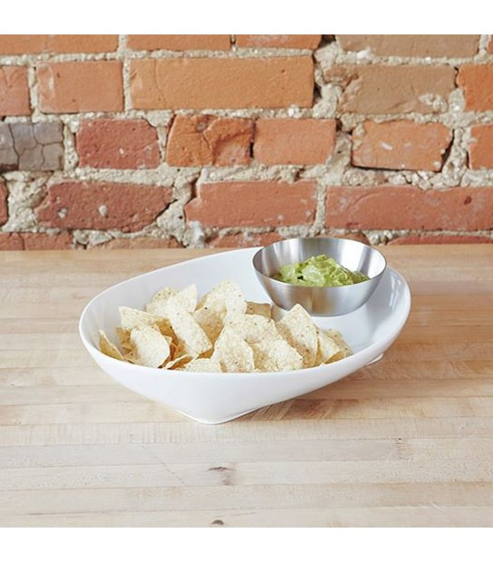 Porta Salatini Chip and Dip Set