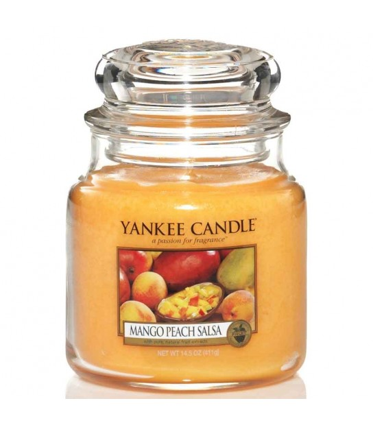 Mango Peach Salsa Giara Media Yankee Candle