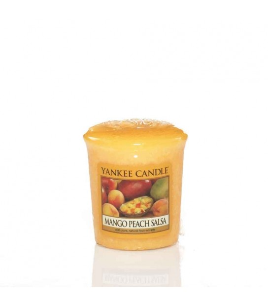 Mango Peach Salsa Sampler votive Yankee Candle