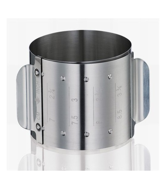 Round Adjustable Food Ring Stainless steel