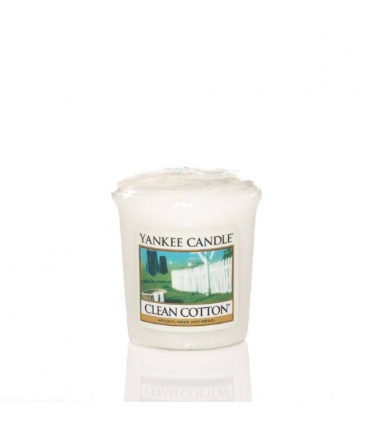Sampler votive Yankee CandleClean Cotton