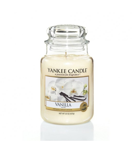 Vanilla Large Candle di Yankee Candle