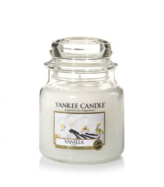 Vanilla Middle Jar Yankee Candle