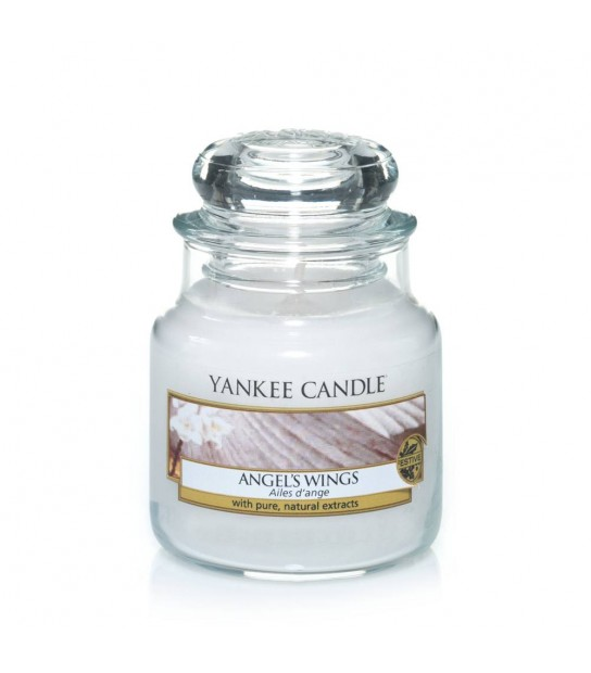 Small Jar Clean Cotton Yankee Candle