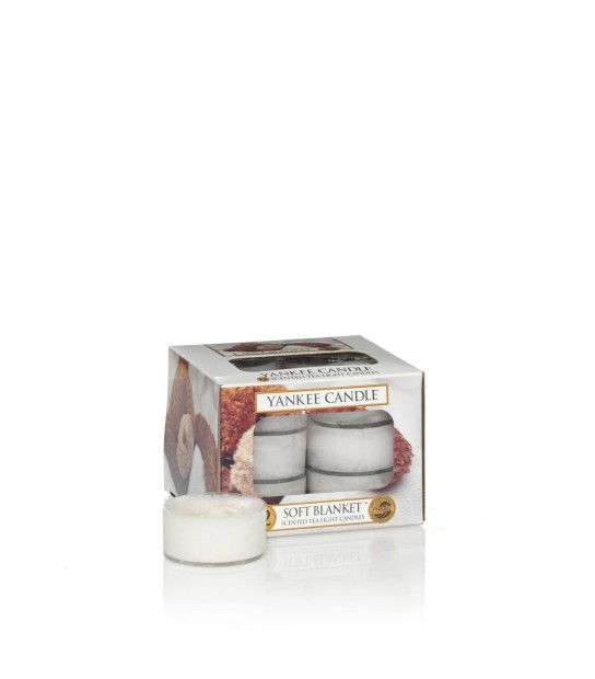 Soft Blanket Scented Tea Light (12) profumati