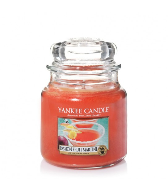 Martini PAssion Fruit Medium Jar Yankee Candle