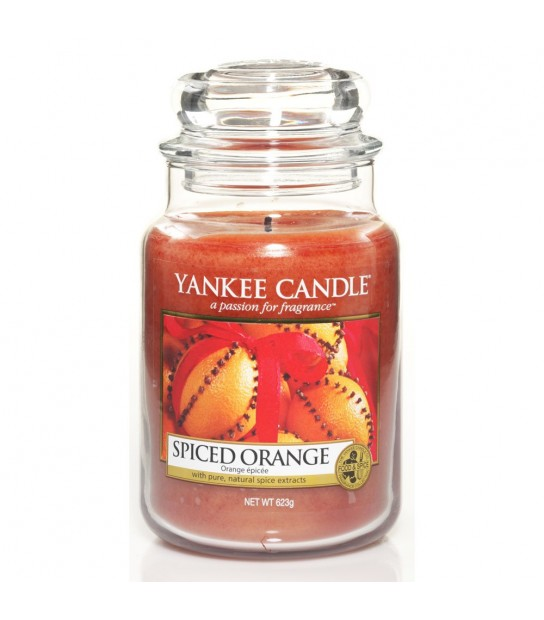 Large Jar Spiced Orange Yankee Candle