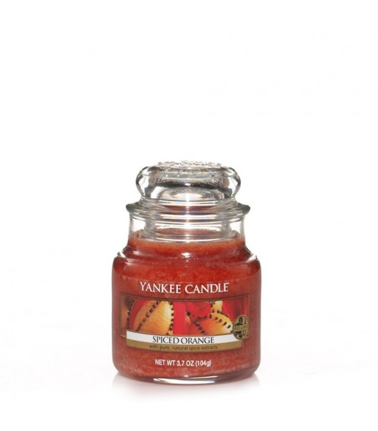 Small Jar Spiced Orange Yankee Candle