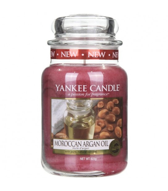 Moroccan Argan Oil Large Candle by Yankee Candle