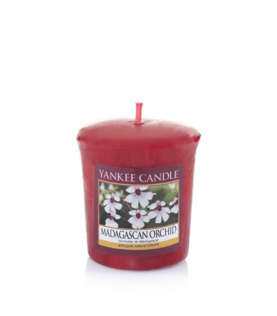Madagascan Orchid Votive by Yankee Candle