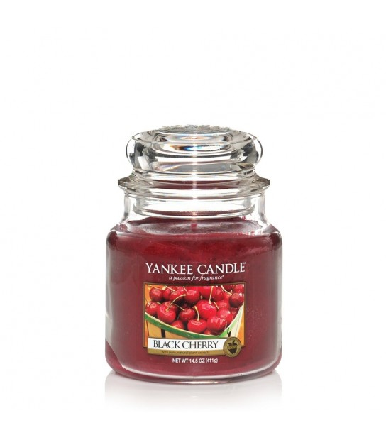 Medium Jar Yankee Candle Black Cherry