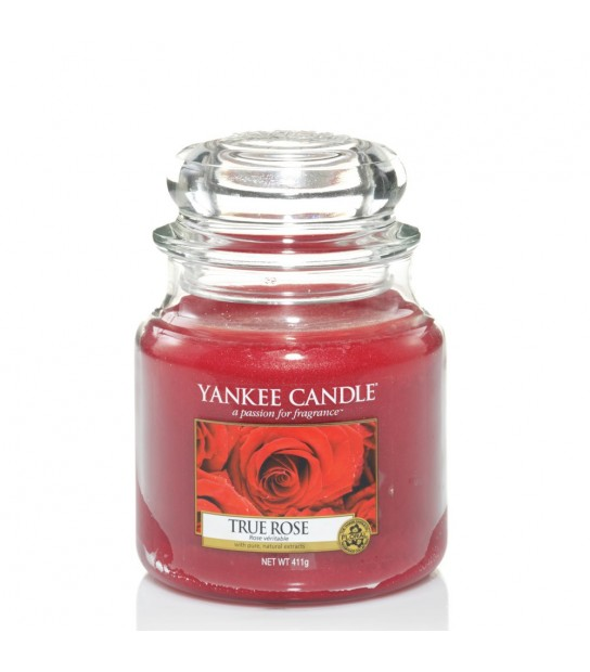 True Rose Medium Jar Yankee Candle
