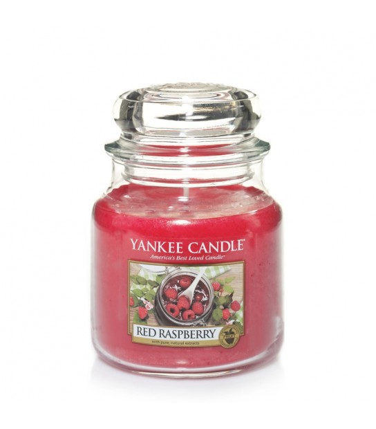 Red Raspberry Medium Jar Yankee Candle