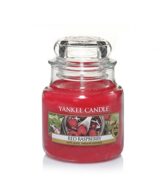 Red Raspberry Small Jar di Yankee Candle