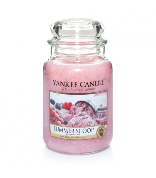 Summer Scoop Large Candle by Yankee Candle