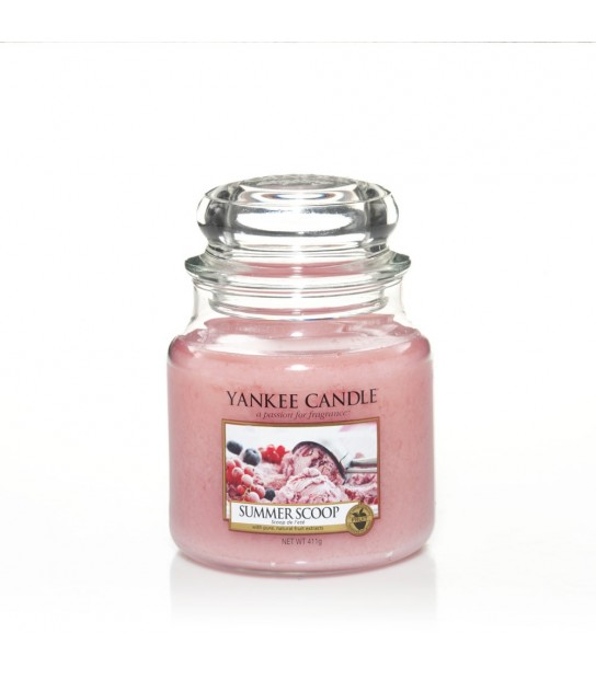 Summer Scoop Medium Jar Yankee Candle