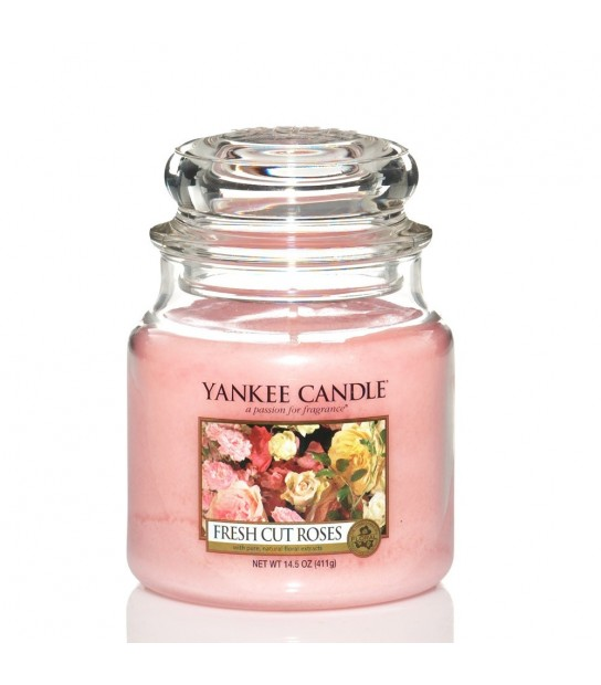 Fresh Cut Roses Giara Media Yankee Candle