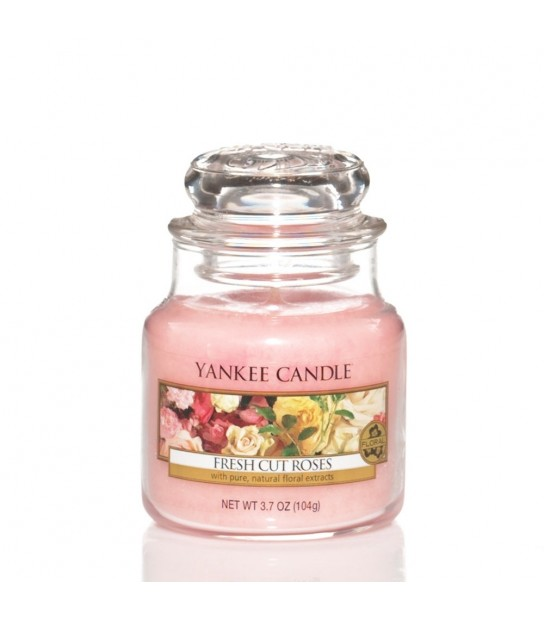 Fresh Cut Roses Small Jar di Yankee Candle