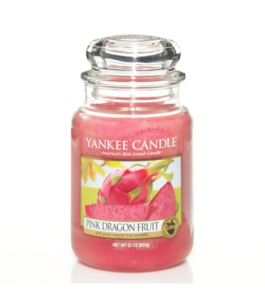 Large Jar Yankee Candle ink Dragon Fruit