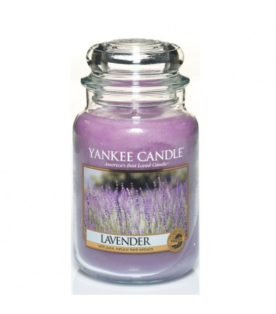 Lavender Large Candle