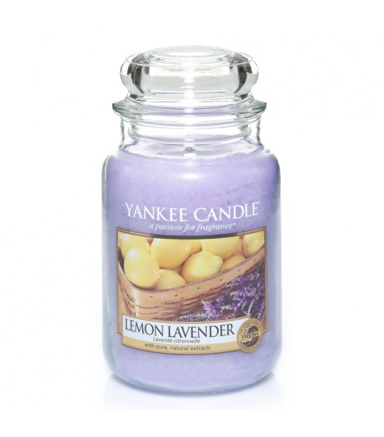 Lemon Lavender Large Candle