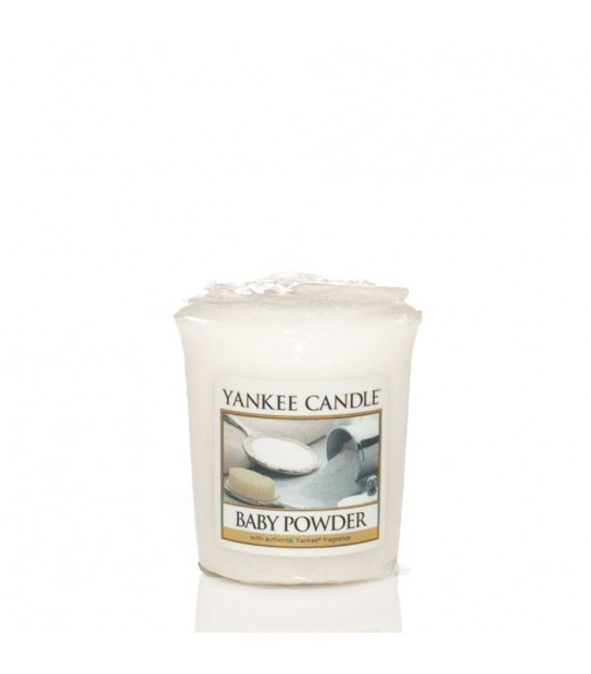 Sampler votive Yankee CandleBaby powder