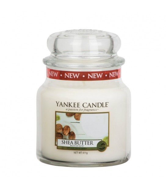 Shea Butter Medium Jar Yankee Candle