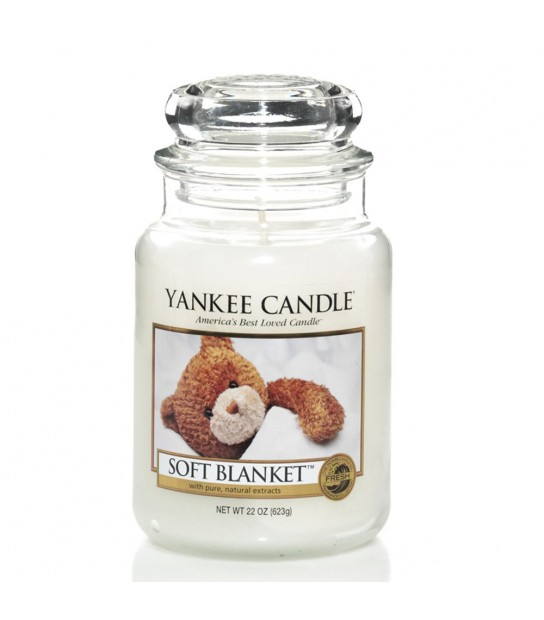 Large Jar Yankee Candle Soft Blanket