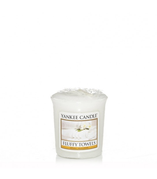 Sampler votive Yankee Candle Fluffy Towels
