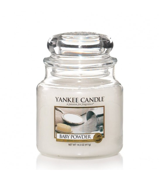 Medium Jar Yankee Candle Baby Powder